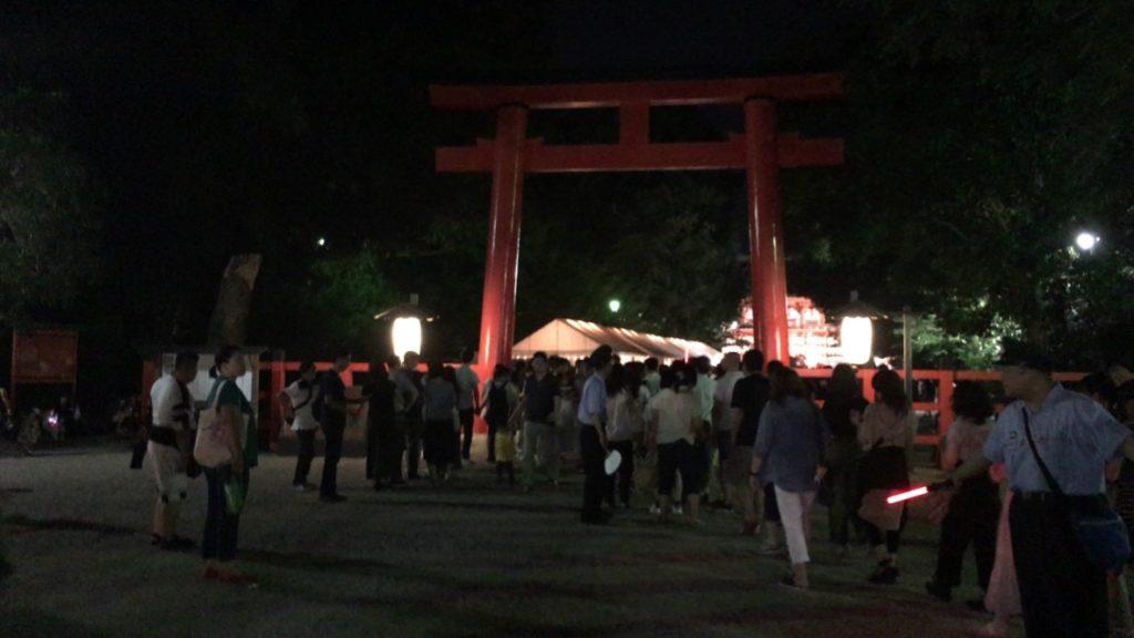 御手洗祭(2019年) 下鴨神社