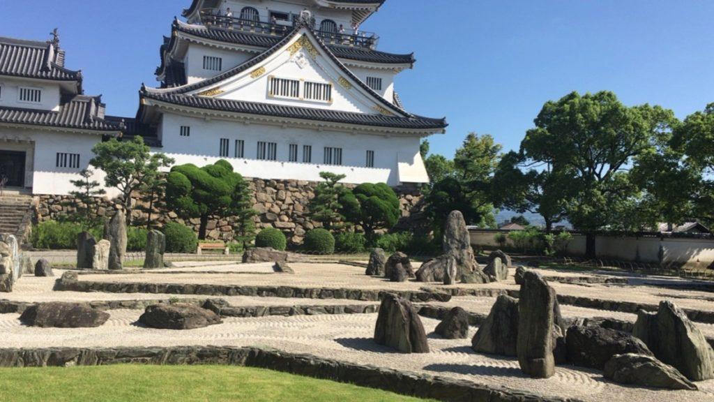 岸和田城 八陣の庭