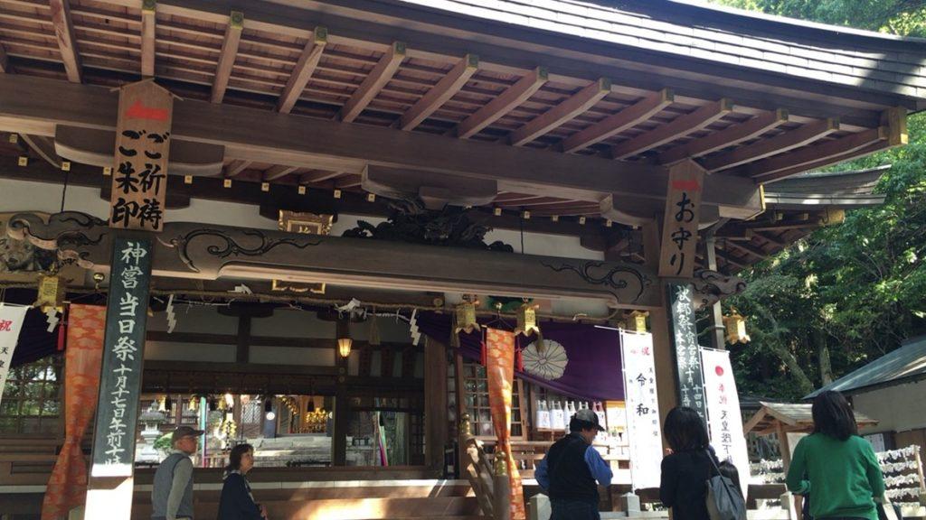 枚岡神社 拝殿
