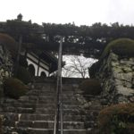 善峯寺 回遊式庭園 入り口