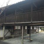 穴太寺 渡り廊下