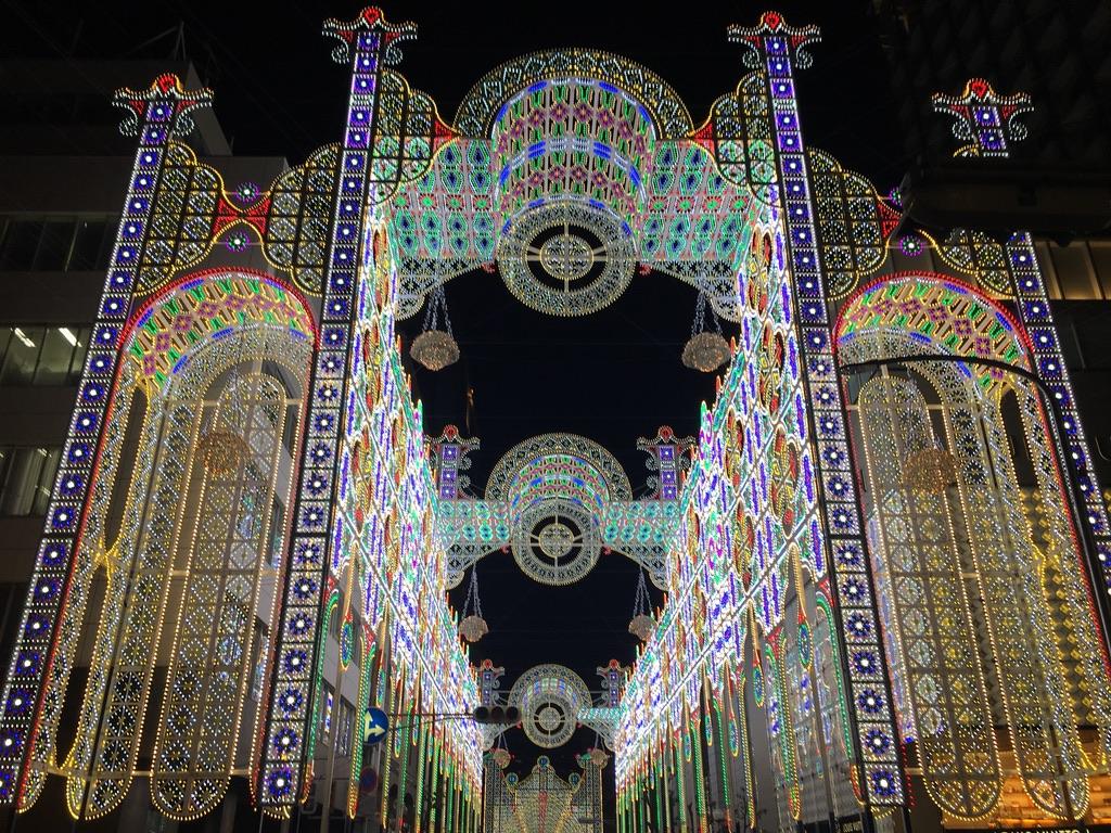 神戸ルミナリエ2019 光の回廊