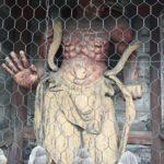 穴太寺 仁王像