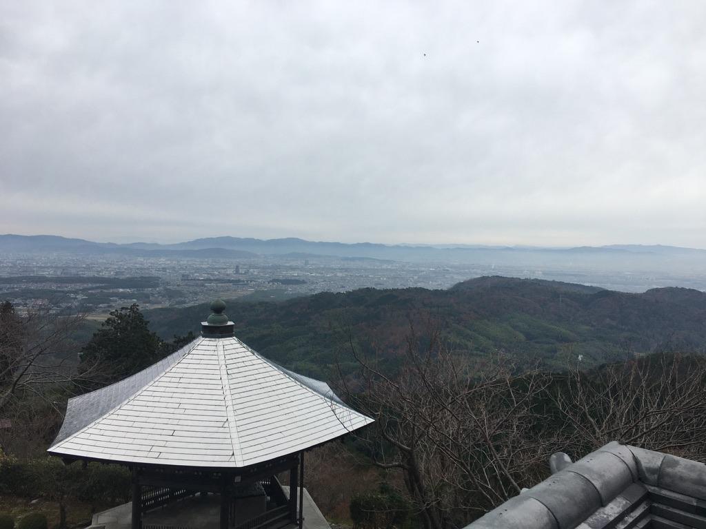 善峯寺 展望