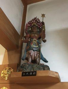 大林寺 持国天