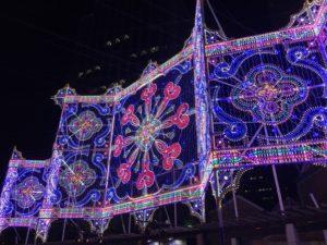 神戸ルミナリエ  花時計広場イルミネーション