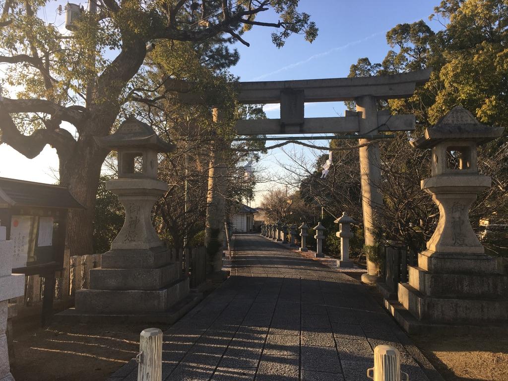 岸和田七宮詣り 兵主神社 一の鳥居