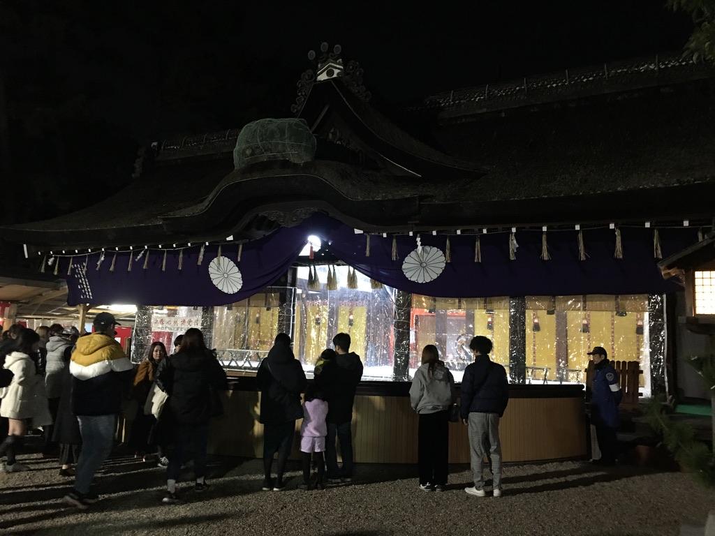 住吉大社 初詣 第一本殿