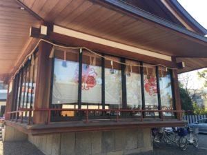岸和田七宮詣り 岸城神社 神楽殿