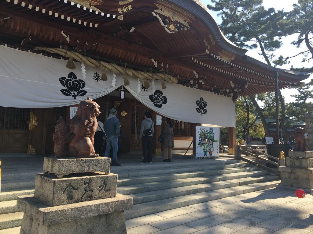 岸和田七宮詣り 岸城神社 本殿