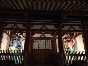 四天王寺 初詣 中門(仁王門)