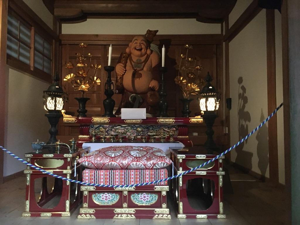 犬鳴山七宝龍寺 初詣 布袋尊