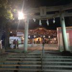 岸和田七宮詣り 夜疑神社 二の鳥居