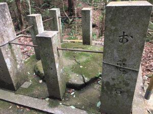 犬鳴山七宝龍寺 初詣 参詣路 お亀石