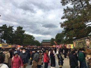 平安神宮 初詣 参道
