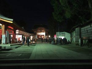 石清水八幡宮 初詣 参道