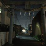 岸和田七宮詣り 夜疑神社 一の鳥居