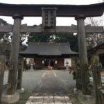 岸和田七宮詣 積川神社 二の鳥居