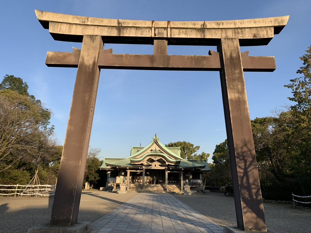 豊国神社 二の鳥居