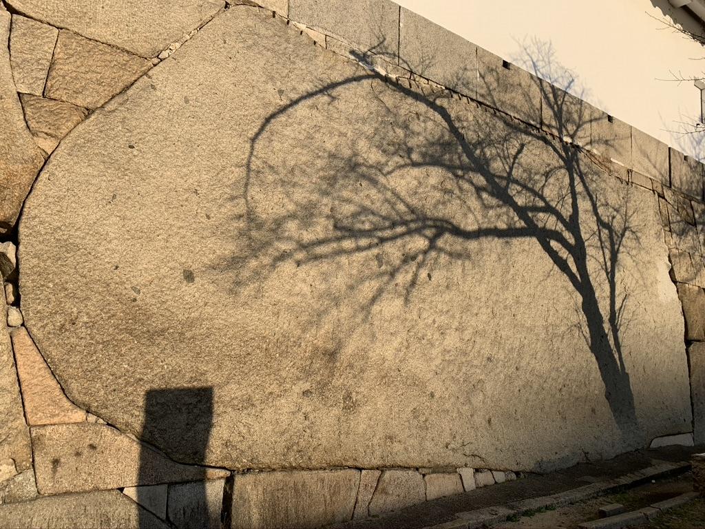 大阪城 大手口升形の巨石
