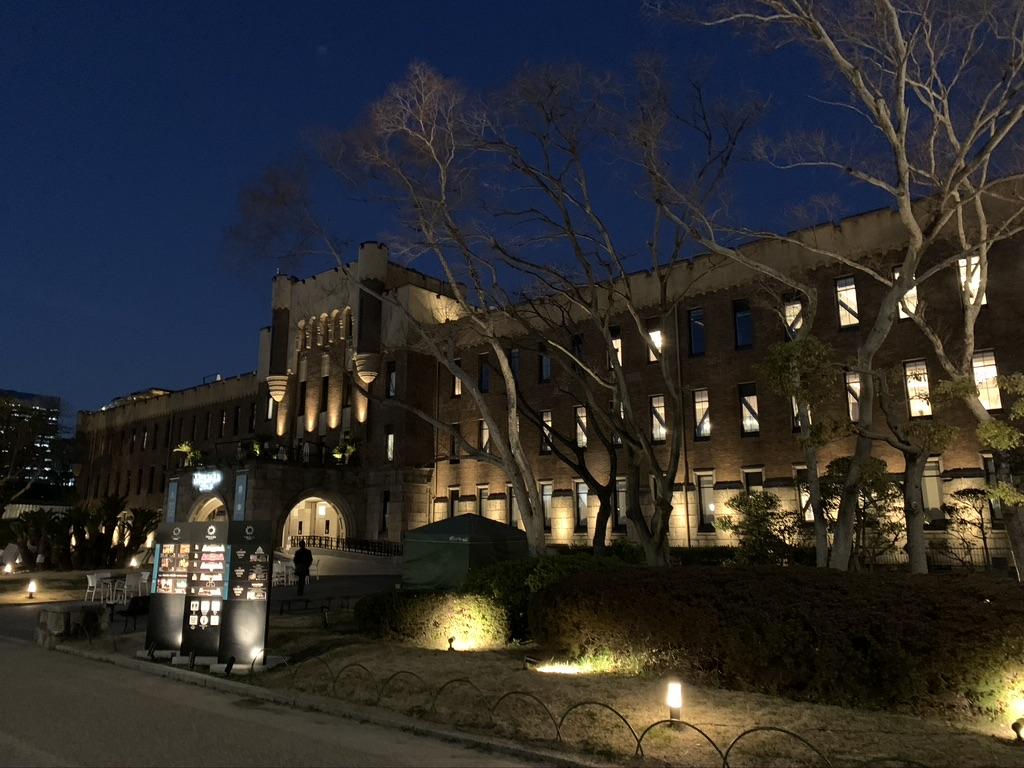大阪城 夜景 ミライザ大阪城