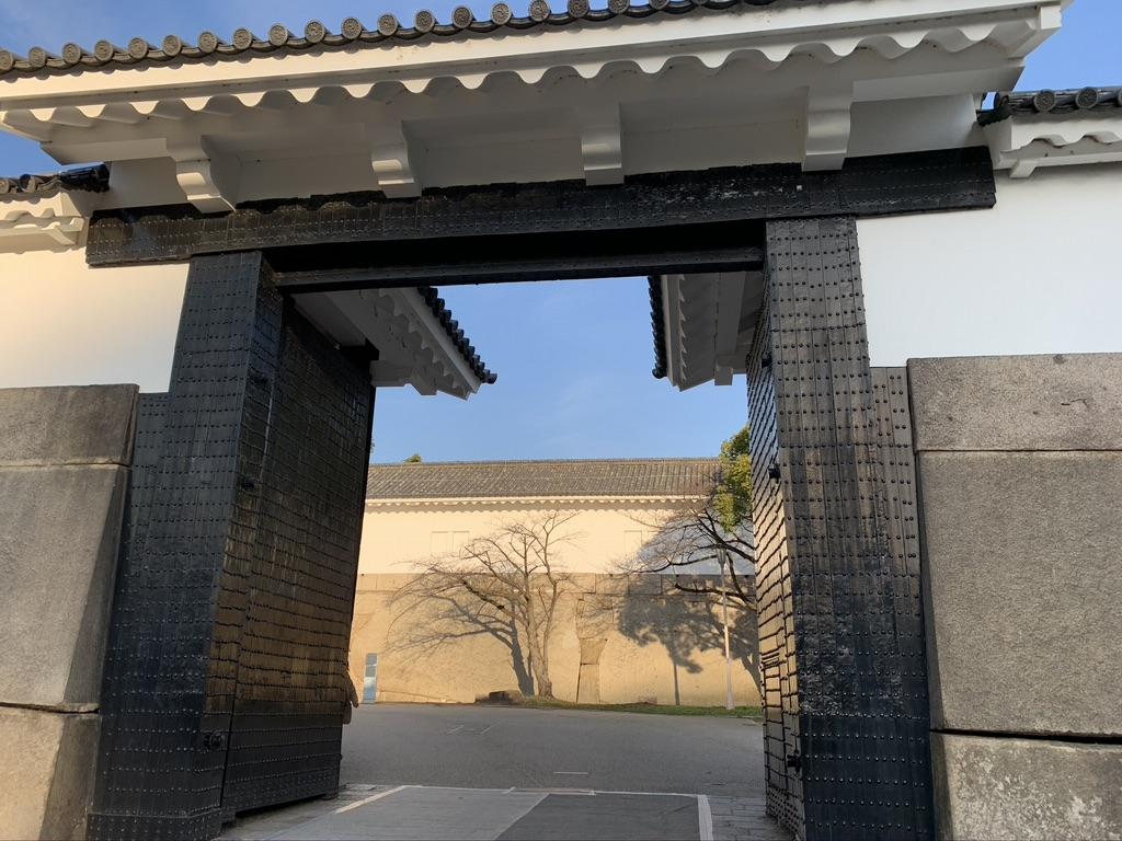 大阪城 追手門