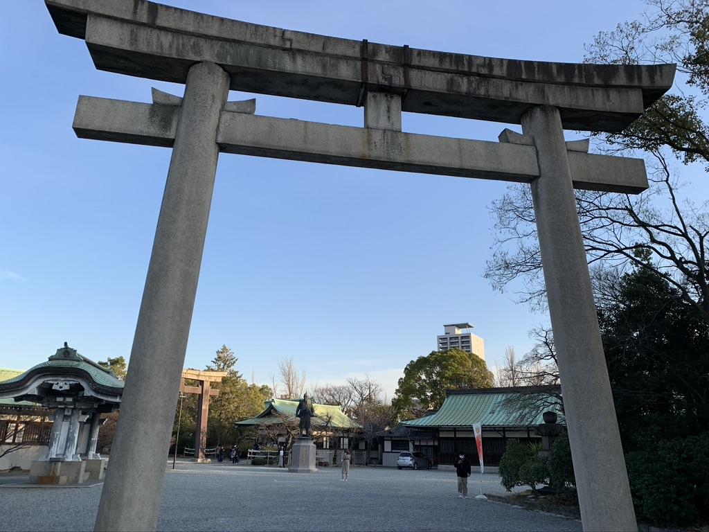 豊国神社 一の鳥居
