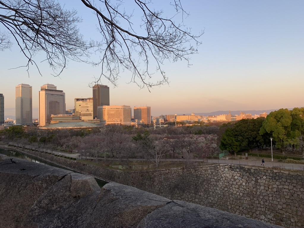 大阪城 展望