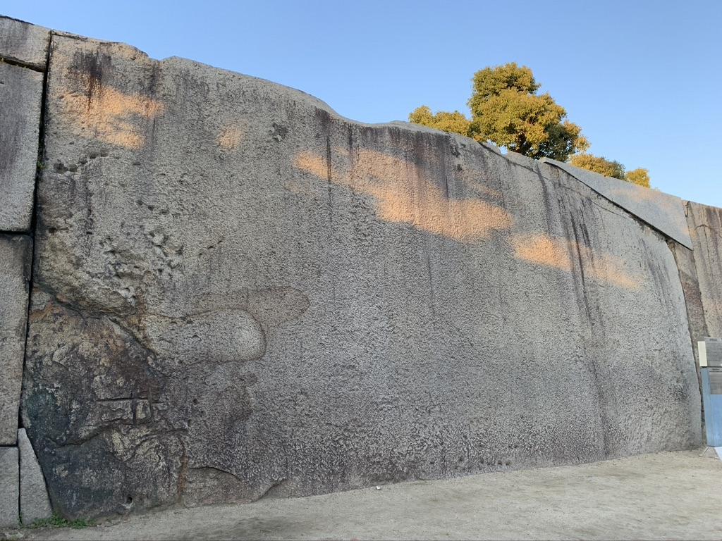 大阪城 桜門枡形の巨石