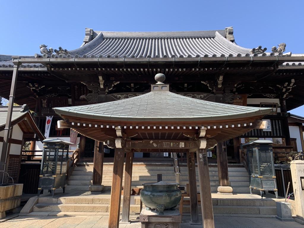 河内西国 藤井寺 本堂