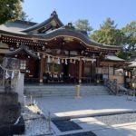 辛国神社 本殿 拝殿