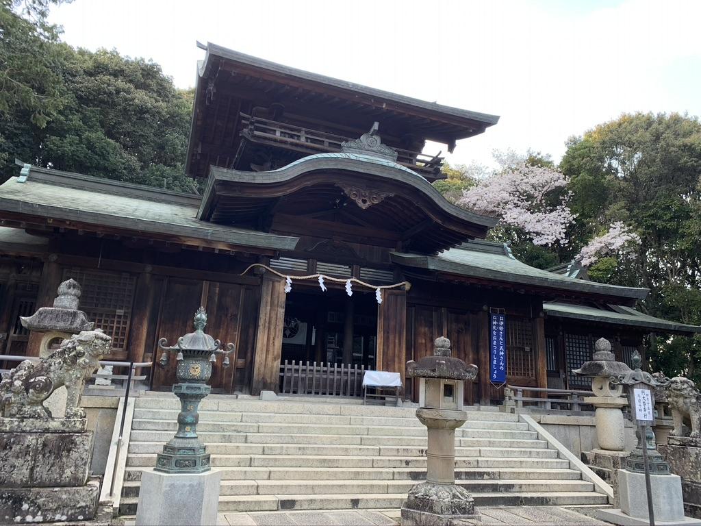 波太神社 本堂