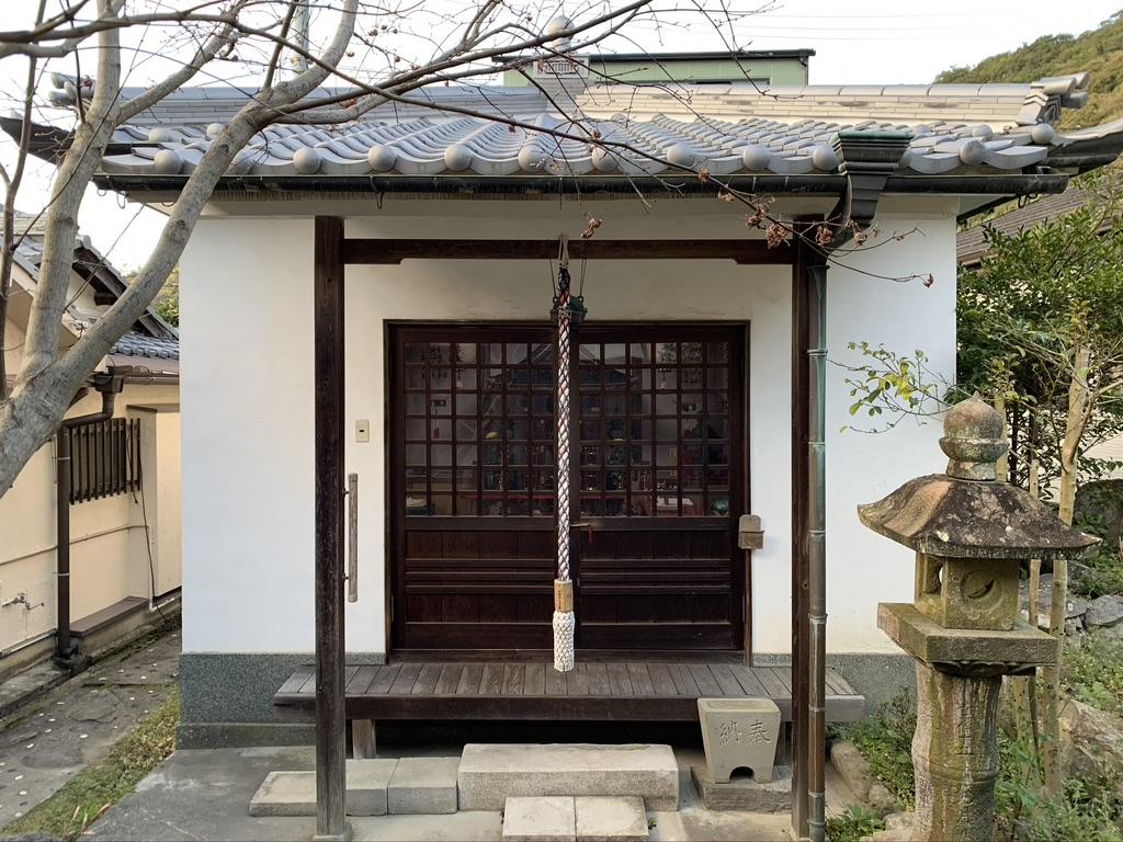 山中渓 山中神社 八王子社観音堂(奥の院)