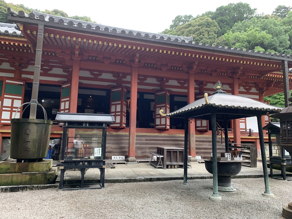 観心寺 本堂