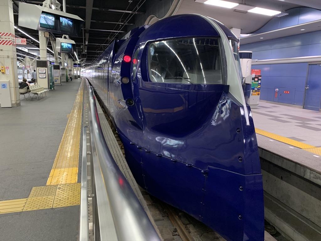 南海電鉄 ラピート 難波駅 観心寺
