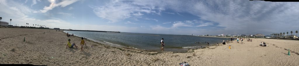 泉南ロングパーク サザンビーチ パノラマ