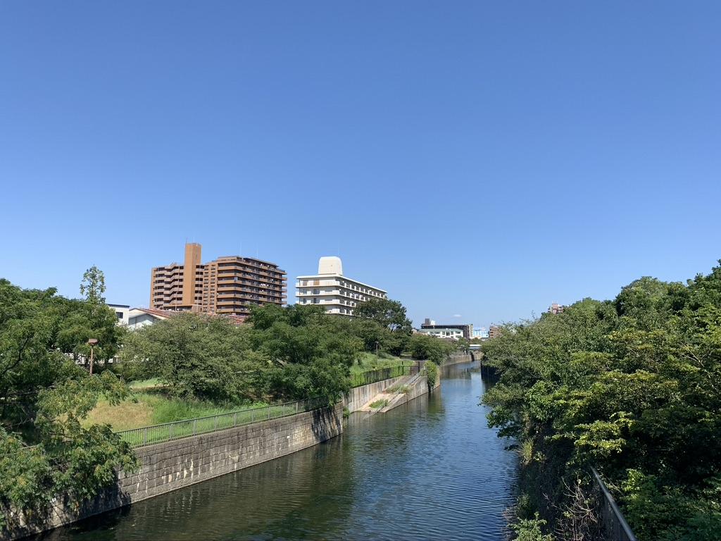 大阪護国神社 住吉川