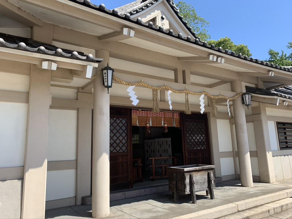 大阪護国神社 奉安殿