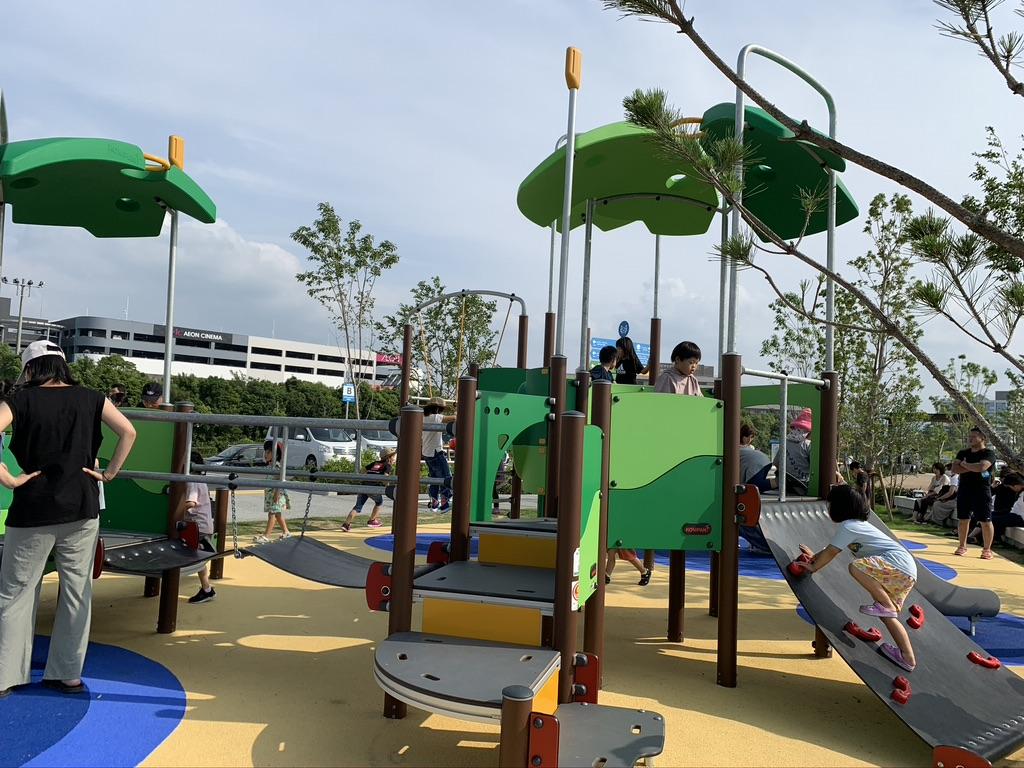 泉南ロングパーク 子供向け遊び場