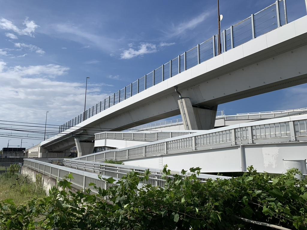 泉南ロングパーク 歩道橋