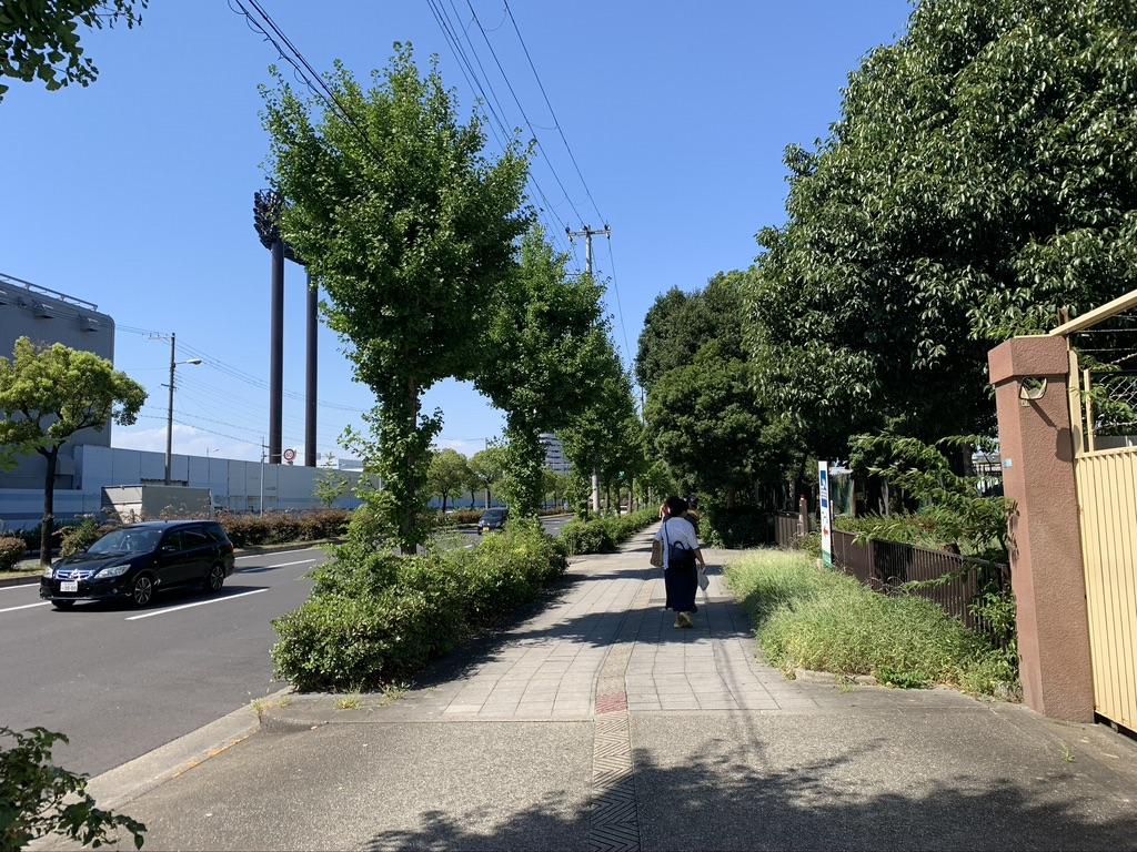 大阪護国神社 歩道