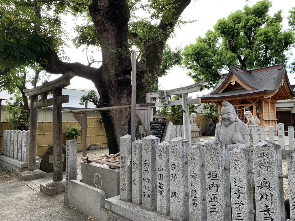 額田戎神社 境内