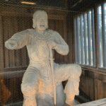 石切劔箭神社 隋神門 神像