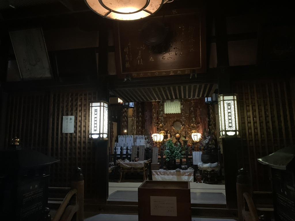 興福寺 一言観音堂 夜間