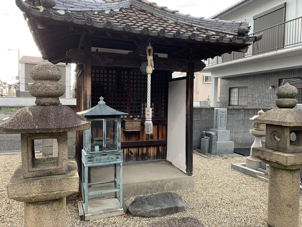 河内西国 額田寺 地蔵堂