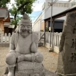 額田戎神社 エビス像