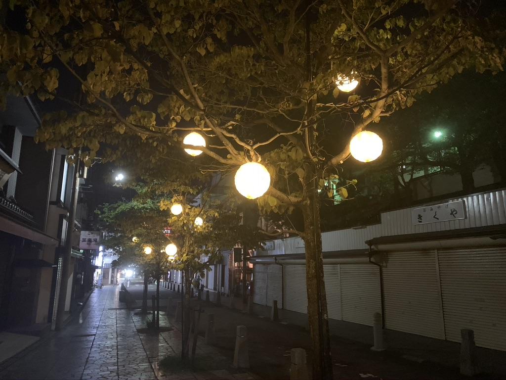 奈良 夜間