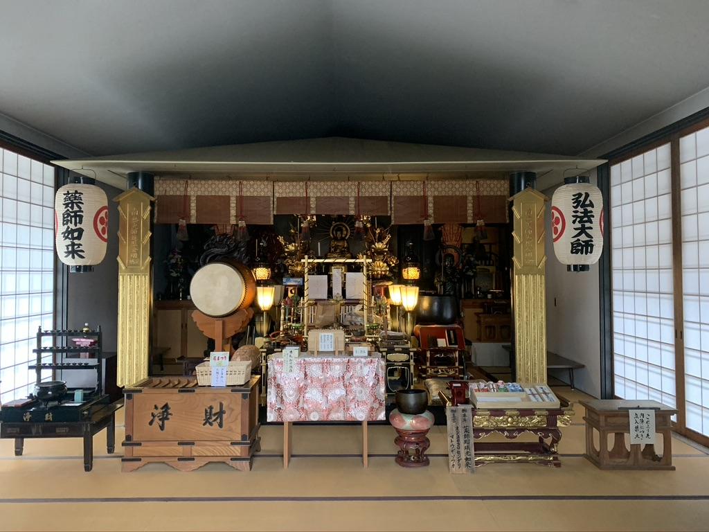 河内西国 額田寺 本堂