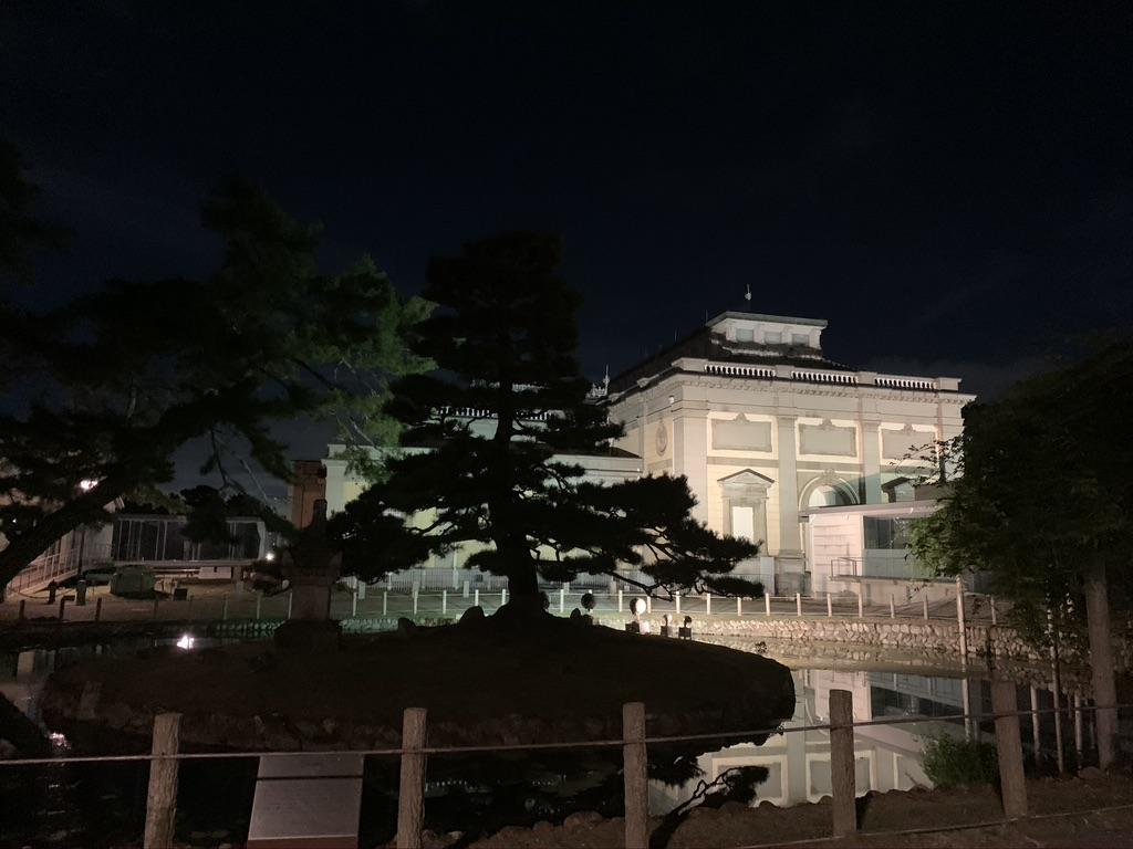 奈良国立博物館 夜間 ライトアップ