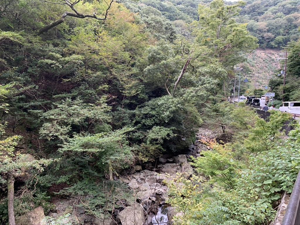 勝尾寺 参拝道